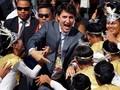 Tiba di Filipina, Trudeau Disambut Bak Bintang Pop
