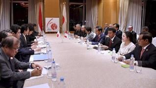 Menteri Puan Dampingi Jokowi Bahas Kerja Sama Jepang