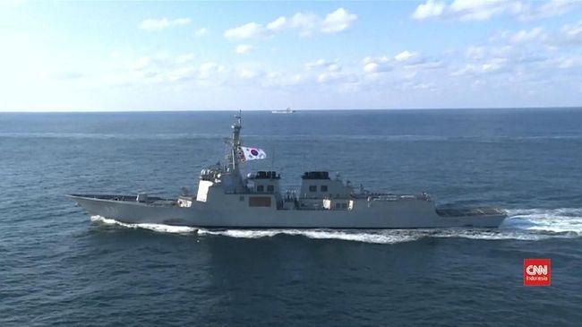 Jepang Tuding Kapal Perang Korsel Bidik Pesawatnya
