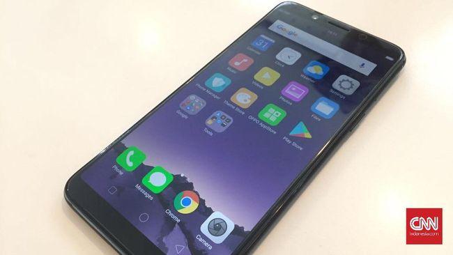 Oppo F5 Muncul, Andalkan Kecerdasan Buatan di Kamera Depan