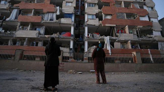 Korban Gempa  450 Jiwa, Iran Umumkan Hari Duka Nasional
