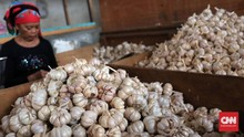 Kuota Impor Bawang Putih Ditambah Jadi 115 Ribu Ton