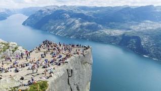 Tebing Norwegia Jadi Lokasi Syuting 'Mission Impossible 6'