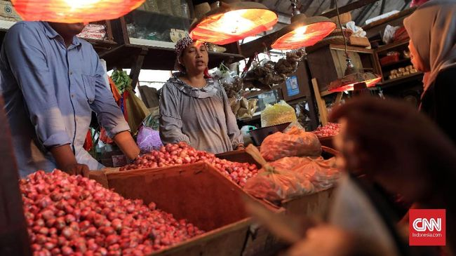 Inflasi November 0,27 Persen Gara-gara Bawang Merah dan Beras