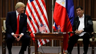 Trump Beri 27 M untuk Perang Narkoba Kontroversial Duterte