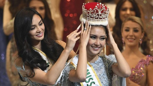 Indonesia Raih Mahkota Miss International 2017