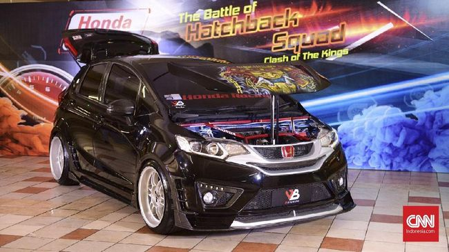 Intip Hasil Utak Atik Raja Modifikasi Honda Jazz Dan Brio