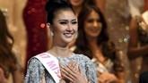 <p>Kevin Lilliana (21) berhasil meraih mahkota Miss International 2017, pada gelaran final yang berlangsung di Tokyo, Jepang, Selasa (14/11). Ia berhasil menyisihkan kontestan dari 70 negara lainnya. (AFP PHOTO / Toshifumi KITAMURA)</p>