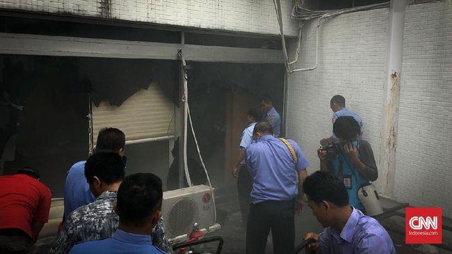 Cerita Pimpinan DPR Ikut Dievakuasi Saat Kebakaran