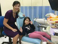 Sebagai dokter gigi Yoan punya kliniknya sendiri di daerah Alam Sutera, Tangerang Selatan. (Foto: Instagram/drg_yoan)