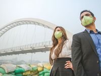 Hal ini dilakukan sebagai bentuk protes, upaya mereka untuk mengangkat isu pencemaran lingkungan. (Foto: Instagram/banjarastudios)