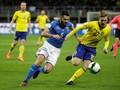 Timnas Italia vs Swedia Tanpa Gol di Babak Pertama