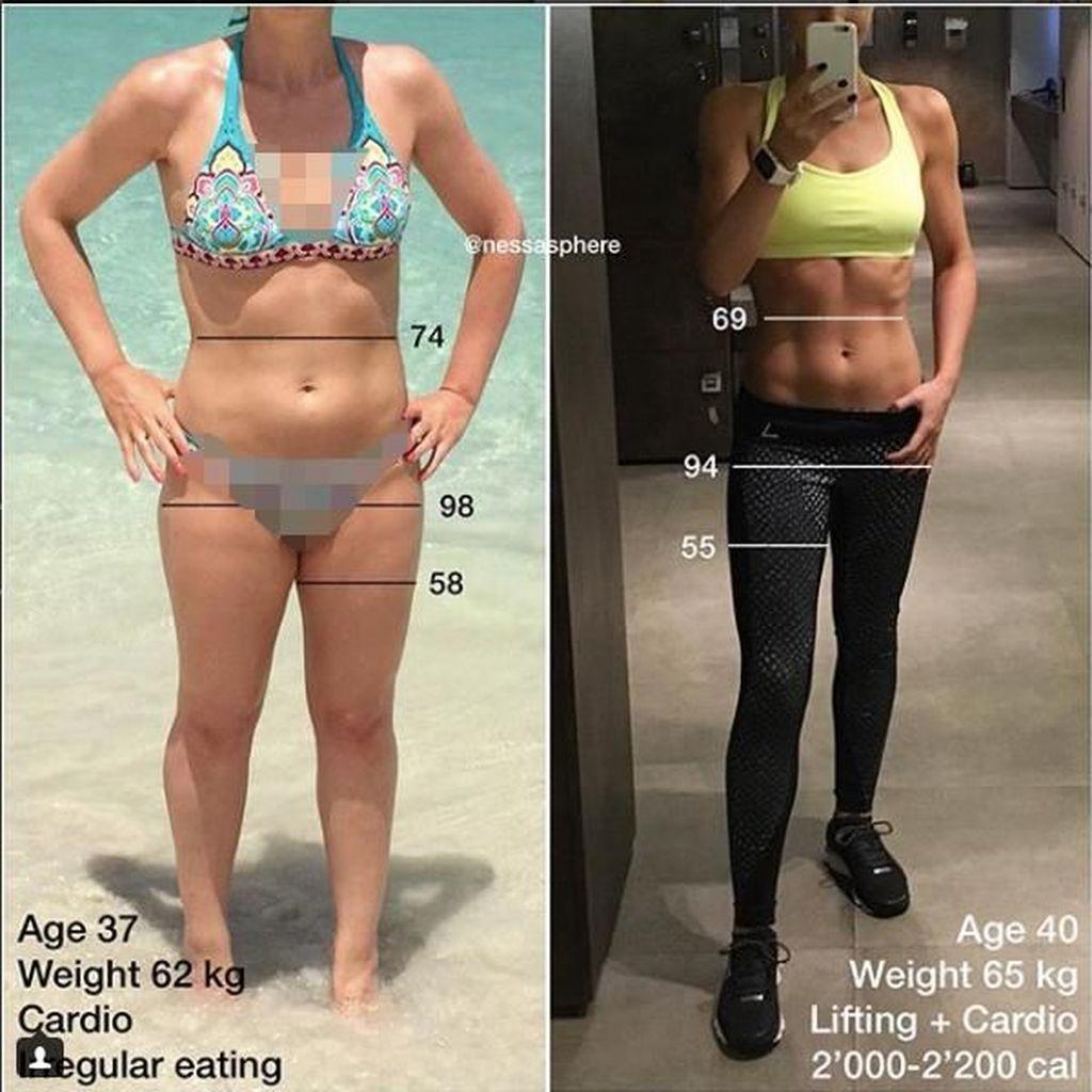 Makan Lebih Banyak, Wanita Ini Malah Sukses Rampingkan Pinggang
