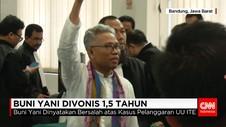 Buni Yani Divonis Bersalah Karena Melanggar UU ITE