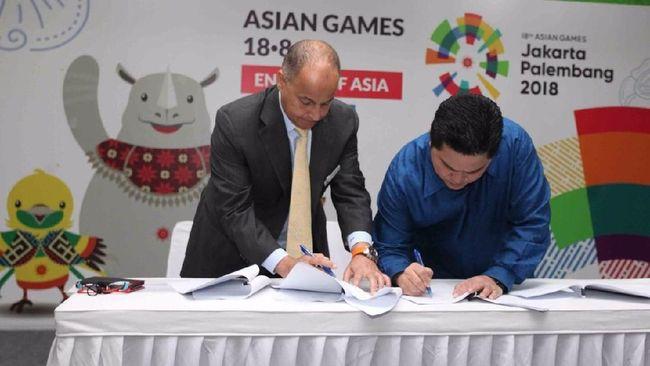 INASGOC Targetkan 4-5 Miliar Penonton Siaran Asian Games 2018