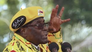 Mugabe Tolak Mundur Dari Jabatan Presiden Zimbabwe
