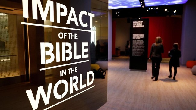 Museum dengan koleksi lebih dari 40 ribu jenis artefak ini bermula dari sebuah lembaga nonprofit pada 2010. (REUTERS/Kevin Lamarque)