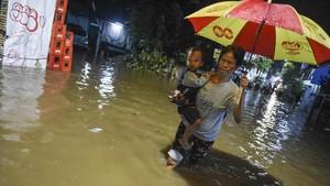 Hujan Lebat, Sejumlah Kawasan di Jakarta Terendam Banjir