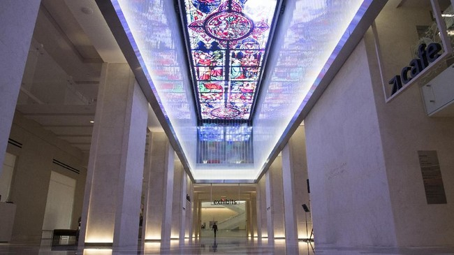 Museum ini diklaim tidak memihak mana pun, baik sekte, politik, atau ajaran rasul tertentu. Museum membiarkan pengunjung yang mengambil kesimpulannya sendiri. (AFP PHOTO / SAUL LOEB)