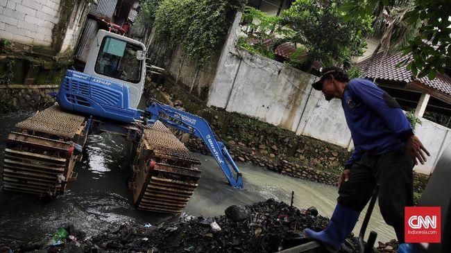 Pemprov DKI Anggarkan Rp1,3 Triliun untuk Naturalisasi Sungai