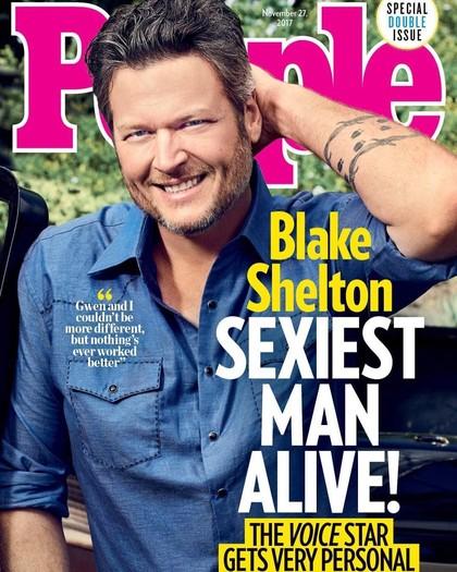 Blake Shelton Jadi Sexiest Man Alive 2017, Banyak yang Tak Setuju