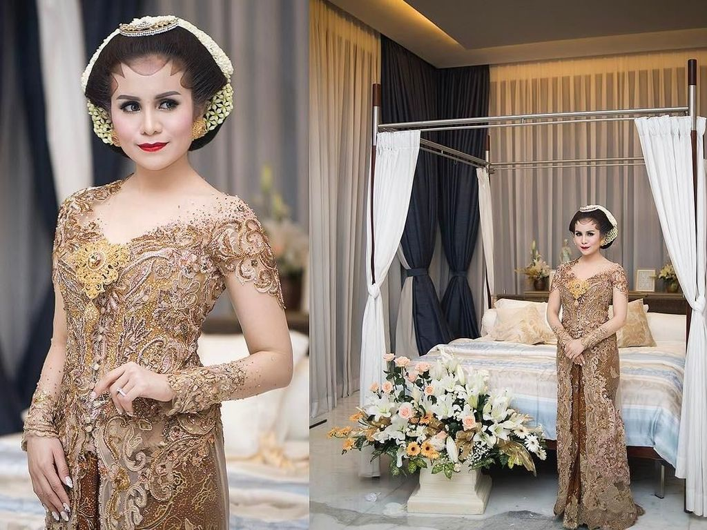 Foto: Inspirasi Kebaya Midodareni 6 Selebriti Indonesia