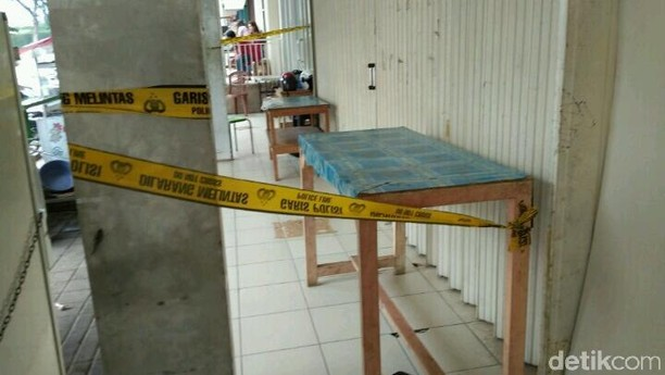 Foto: Penampakan Laundry Tempat Dibunuhnya Imam
