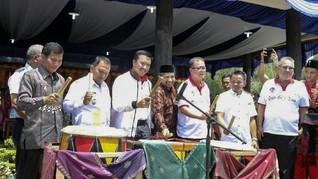Menpora Buka Jambore Pemuda Indonesia 2017
