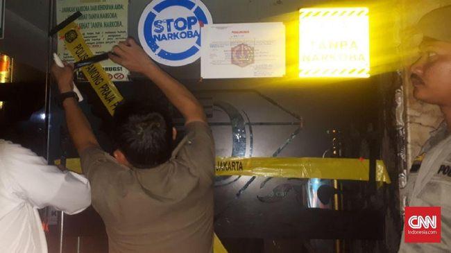 Satpol PP Resmi Tutup Diamond Karaoke Karena Kasus Narkotik