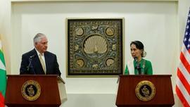 Temui Suu Kyi, Menlu AS Desak Penyelidikan HAM di Rakhine