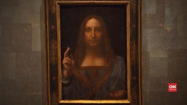 Italia Pikir Ulang Peminjaman Lukisan da Vinci ke Prancis