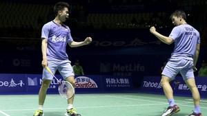 Marcus/Kevin Melaju ke Semifinal China Open