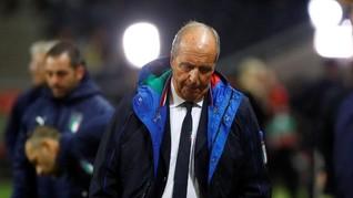 Gian Piero Ventura Resmi Dipecat dari Timnas Italia