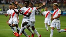 Timnas Peru Rebut Tiket Terakhir ke Piala Dunia 2018