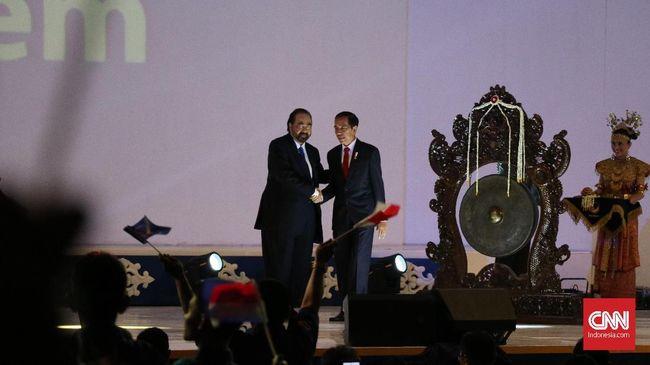 PDIP Usung Jokowi di Pilpres, NasDem: Ini Kerja Sama Berulang