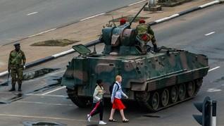 Bukan Kudeta, Militer Bersihkan Zimbabwe dari Koruptor