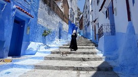 Chefchaouen, Kota Biru yang Sarat Akulturasi Budaya
