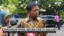Dukungan Moril Sekjen Partai Golkar untuk Keluarga Setnov