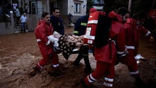 KBRI: Tak ada WNI Korban Banjir Bandang Yunani