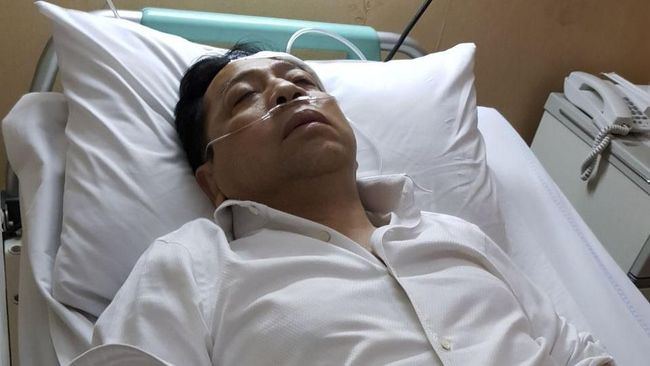 Setya Novanto Kecelakaan, Netizen Ramaikan Topik #Setnov