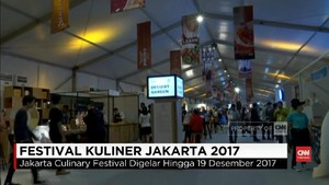 VIDEO: Berburu Makanan Enak di Jakarta Culinary Feastival