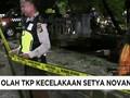 VIDEO: Olah TKP Kecelakaan Setya Novanto