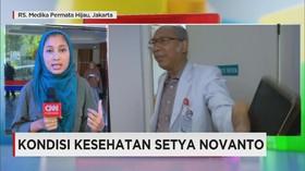 Kondisi Setya Novanto Membaik Setelah Jalani Perawatan