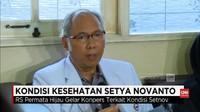 VIDEO: Pernyataan Dokter Soal Kondisi Kesehatan Setnov