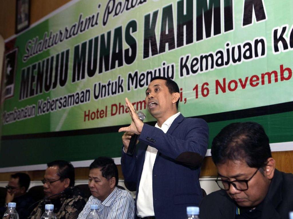 Himpunan Pengusaha KAHMI (HIPKA) menilai Indonesia mutlak berdaulat secara ekonomi. Karena itu, spirit kewirausahaan menjadi penting dikembangkan di kalangan generasi muda. Pool/HIPKA.