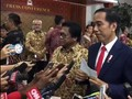 VIDEO: Presiden Jokowi Tak Komentari Kecelakaan Setnov