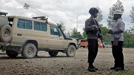 Anggota Brimob Tertembak di Papua Dibawa ke Jakarta