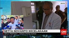 Idrus Marham Kunjungi Setya Novanto Setelah Kecelakaan