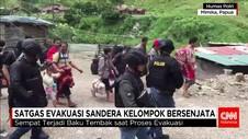 Tim Satgas Gabungan Evakuasi 344 Sandera Kelompok Bersenjata