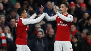 Arsenal Menang 2-0 atas Tottenham Hotspur